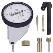 .03/.0005, 0-15-0 Quick-Set Dial Test Indicator Set, Vertical