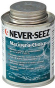 Never Seez Marine Grade Anti-Seize Lubricant in easy to use brush-top bottle.
