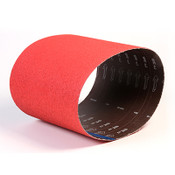 "CeraFlame Premium Ceramic Floor Sanding Belts - 7-7/8"" x 29-1/2"", Grit/ Weight: 100X, Mercer Abrasives 433100 (5 Belts/Pkg.)"