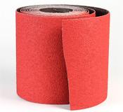 """CeraFlame Premium Ceramic Floor Sanding Rolls - 8"""" x 25 YD, Grit/ Weight: 100X, Mercer Abrasives 464036 (1/Pkg.)"""