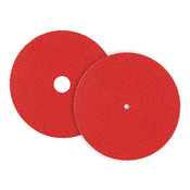 "CeraFlame Premium Ceramic Floor Sanding Edger Discs - Bolt-On 7"" x 5/16"" Hole, Grit/ Weight: 80F, Mercer Abrasives 465080 (25/Pkg.)"