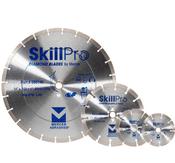 "SkillPro Segmented Diamond Blades - 4-1/2"" x .070 x 7/8"", 5/8"", Mercer Abrasives 666412 (25/Pkg.)"