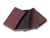 """Flexible Sanding Sponges - 3"""" x 4"""" x 1/2"""", Grade: Medium, Grit: 80, Mercer Abrasives 281MEB (120/ Bulk Pkg.)"""