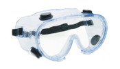Anti-Fog Chemical Splash Guard Goggle, Clear, Small Face 15142 (12/Pkg.)