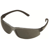 ERB SupERBs Safety Glasses, Pewter Frame/Gray Lens 16501 (12 Pr.)