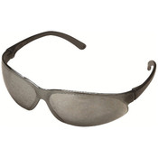 ERB SupERBs Safety Glasses, Gray/Silver Frame, Indoor/Outdoor Mirror Lens 16504 (12 Pr.)