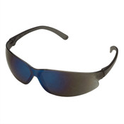 ERB SupERBs Safety Glasses, Gray/Blue Frame, Blue Mirror Lens 16506 (12 Pr.)
