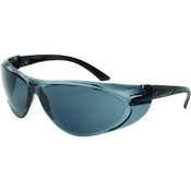 ERB Switchback Safety Glasses, Ratcheting Temple, Black Frame/Gray Lens 17936 (12 Pr.)