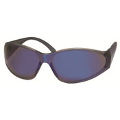 ERB Boas Original Safety Glasses, Blue Frame, Blue Mirror Lens 15287 (12 Pr.)