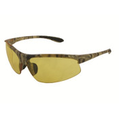 ERB Commandos Safety Glasses, Camo Frame/Amber Lens 18616 (12 Pr.)