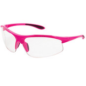 ERB Ella Safety Glasses, Pink Frame/Clear Anti-Fog Lens 18620 (12 Pr.)
