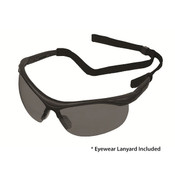 ERB X Bifocal Safety Glasses, Black/Gray, +2.0 Power 16876 (12 Pr.)