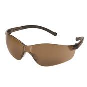 ERB Inhibitor Frameless Safety Glasses, Brown Smoke 17970 (12 Pr.)