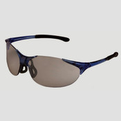 ERB Keystone Safety Glasses, Blue Frame/Gray Lens 16811 (12 Pr.)
