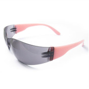 ERB Lucy Ladies I-Protect Safety Glasses, Pink Frame/Smoke Anti-Fog Lens 17947 (12 Pr.)