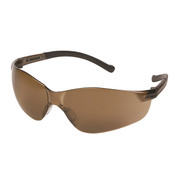 ERB Inhibitor Frameless Safety Glasses, Brown Smoke, BULK 13970 (144 Pr.)