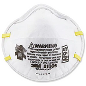 3M 8110S Disposable Lightweight Particulate N95 Respirator Mask - Small (Qty. 20)