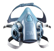 3M 7501 Professional Half Facepiece Reusable Respirator, Small (1 Mask)