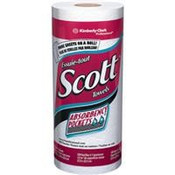 Scott® Kitchen Roll Towels, 20 Rolls/128 ea
