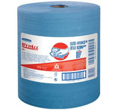 WypAll® X80 Towels, Jumbo Roll, Blue, 475/Roll
