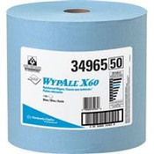 WypAll® X60 Wipers, Jumbo Roll, Blue, 1100/Roll