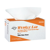 """WypAll® L40 Wipers, Pop-Up Box, 16 3/8"""" x 9 13/16"""", 9 Boxes/100 ea"""