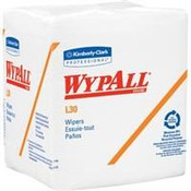 "WypAll® L30 Wipers, 1/4-Fold, 12 1/2"" x 12"", 12 Packs/90 ea"