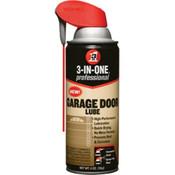 3-In-One® Garage Door Lube, 11 oz Aerosol, 6/Pkg.