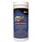 Express Wipes Graffiti Remover, 40 Container/6 Case