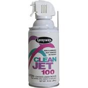 Clean Jet 100 Canned Air, 10 oz Aerosol, 12/Case