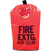 "Extinguisher Cover w/ Window, 31"" x 16 1/2"""
