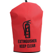 "Heavy-Duty Extinguisher Cover, 25"" x 16 1/2"""