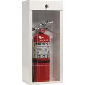"Metal Extinguisher Cabinet, 25 3/4""H x 9 1/2""W x 6 1/4""D"