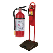 5 lb ABC Pro Line Fire Extinguisher w/ Firetech™ Fire Extinguisher Stand