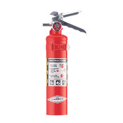 Amerex® 2 1/2 lb ABC Extinguisher w/ Aluminum Valve & Vehicle Bracket