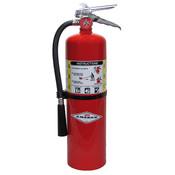 Amerex® 10 lb ABC Extinguisher w/ Brass Valve & Wall Hanger
