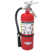 Amerex® 5 lb ABC Extinguisher w/ Aluminum Valve & Wall Hanger