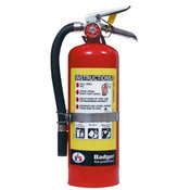 Badger™ Extra 5 lb ABC Fire Extinguisher w/ Vehicle Bracket