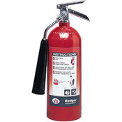 Badger™ Extra 5 lb CO2 Fire Extinguisher w/ Wall Hook