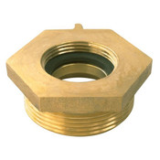 Female x Male Brass Hexagon Bushing