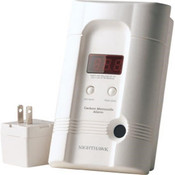 Kidde Direct Plug-In AC/DC CO Alarm w/ Digital Display & Lithium-Ion Rechargeable Battery