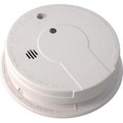 Kidde Interconnectable AC/DC Smoke Alarm w/ Battery Backup, Smart Button, Smart Hush, Silent Hush, & Alarm Memory (Ionization)