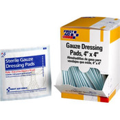 "Gauze Pads, 2"" x 2"", 2 Pk/25 Box"