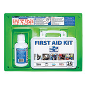 First Aid Kit & Eyewash Station, 16 oz