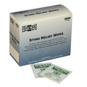 Sting Relief Wipes (10/Box)