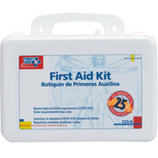 25-Person, 107-Piece Bulk First Aid Kit w/ Gasket (Plastic)