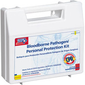 26-Piece Personal Bloodborne Pathogen Kit w/ CPR Microshield