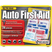 28-Piece Auto First Aid Kit (Plastic Case)