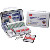25-Person, 179-Piece Contractor First Aid Kit (Plastic)