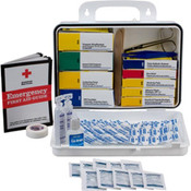 16-Unit, 113-Piece Welder's First Aid Kit (Plastic)